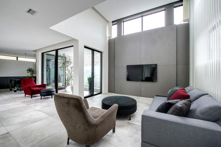 TERAJIMA ARCHITECTS/テラジマアーキテクツ 现代客厅設計點子、靈感 & 圖片