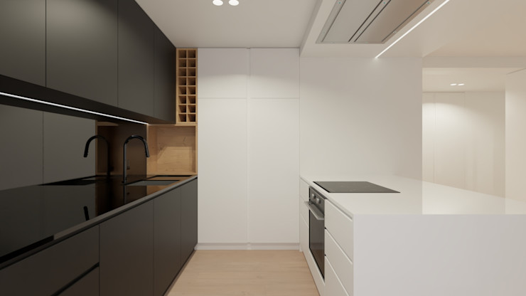 Kitchenette NEUTRO ARQUITECTOS Cozinhas modernas