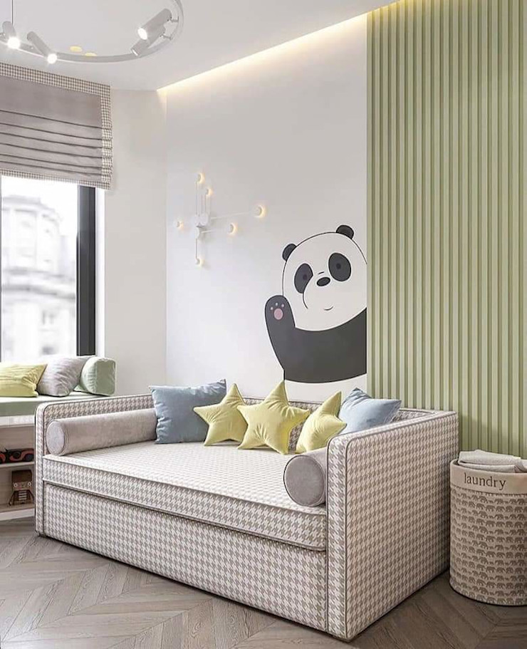 Kids Room HC Designs Nursery/kid's roomDesks & chairs Wood White