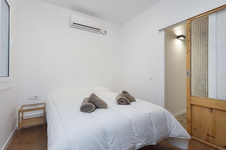 QR+P arquitectura Kamar Tidur Klasik White