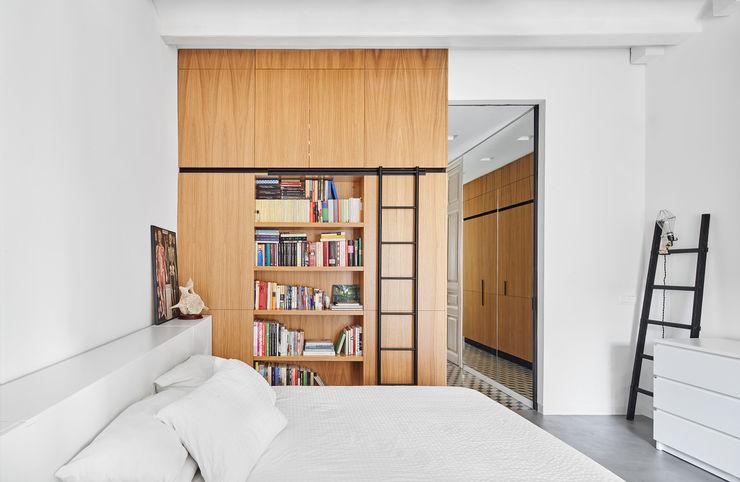 9 Kahane Architects Dormitorios de estilo minimalista