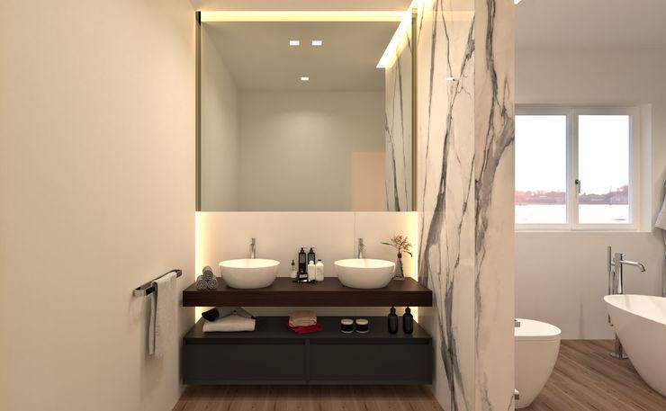 Mobile bagno doppio lavabo Ceramiche Mangiacapra Bagno moderno