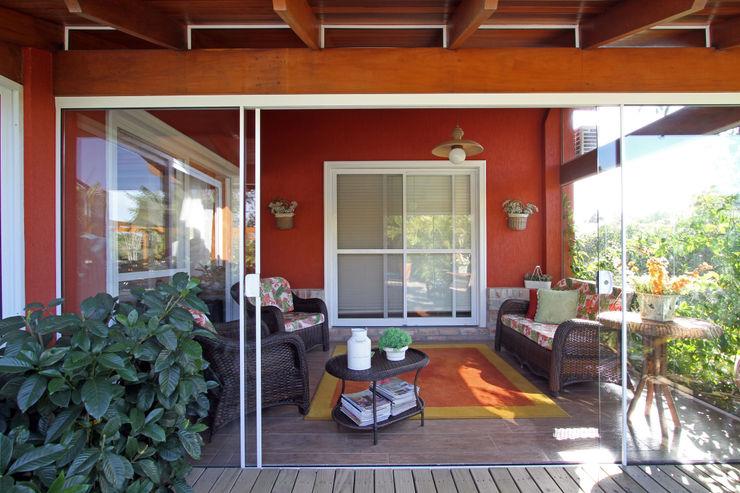 Graça Brenner Arquitetura e Interiores Casas rurales Madera Acabado en madera