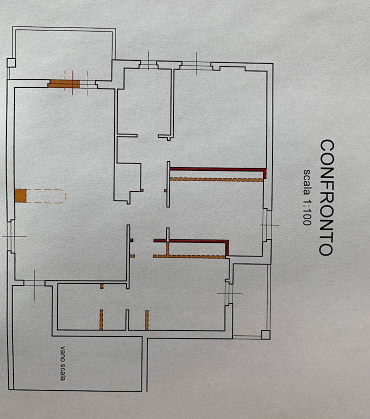 Planimetria di confronto gialli & rossi (demolizioni e costruzioni) C.M.E. srl