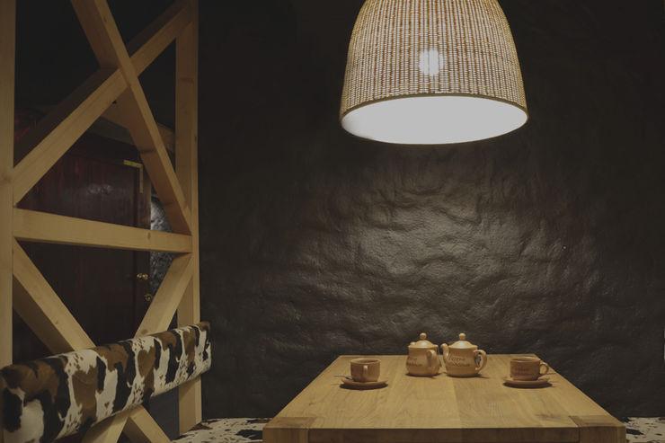 JENO Pracownia Projektowania Naturalnego Rustic style gastronomy