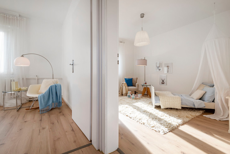 Cornelia Augustin Home Staging Country style nursery/kids room