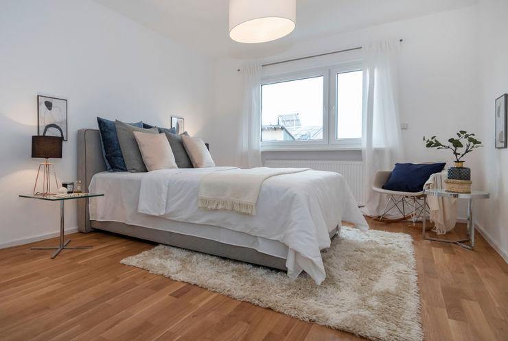 Cornelia Augustin Home Staging Спальня в скандинавском стиле