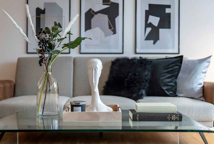Cornelia Augustin Home Staging Гостиная в скандинавском стиле