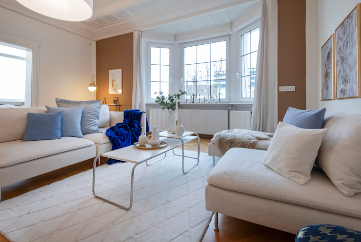 Cornelia Augustin Home Staging Salas de estar clássicas