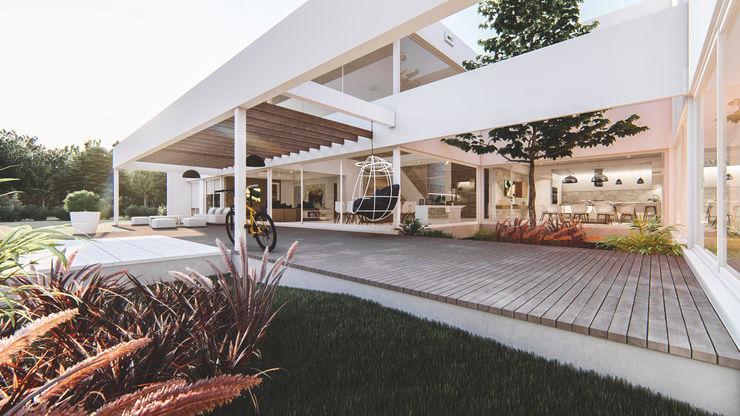 RESIDENCIA CS D'ODORICO arquitectura Casas unifamiliares