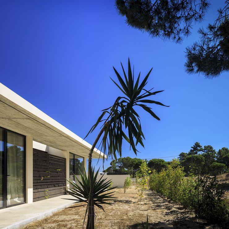 House in Meco MLeP - Marisa Lima Estudos e Projectos de Arquitectura Lda. Casas modernas
