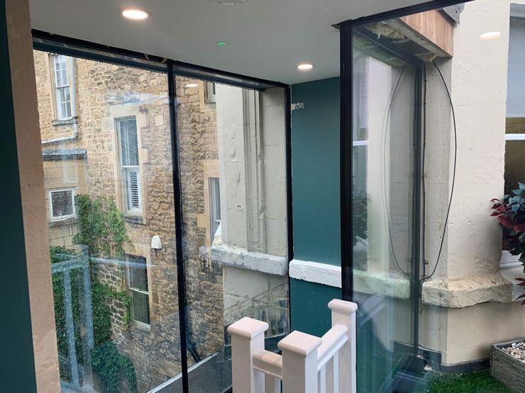 Bath Winter 2020 Glass Structures Limited Koridor & Tangga Modern