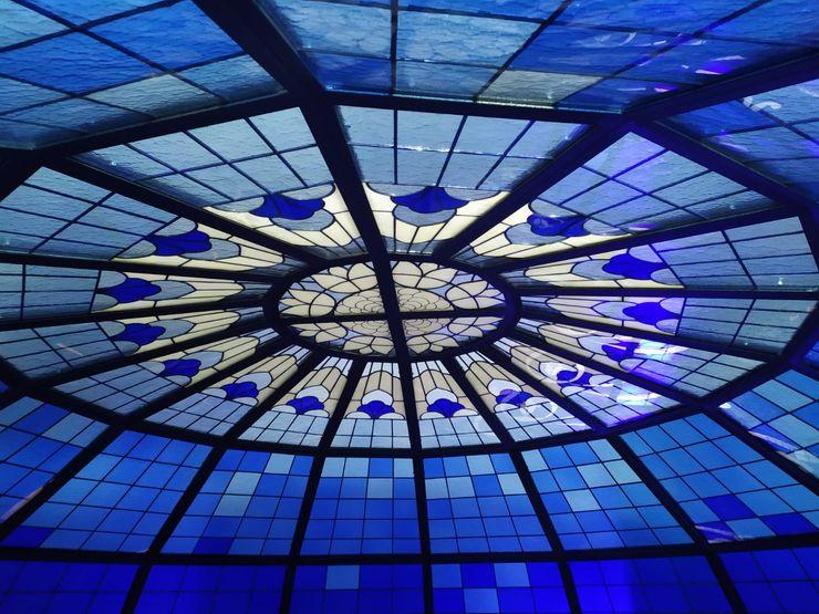 Studio Vetrate Artistiche Corpetti Shopping Centres Glass Multicolored