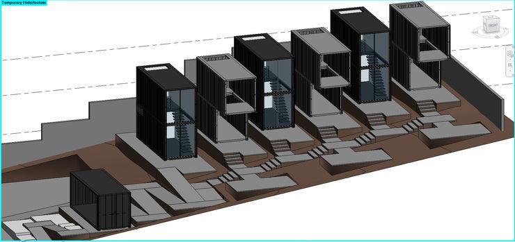 ConstruTech & Technology BIM Passive house Wood White