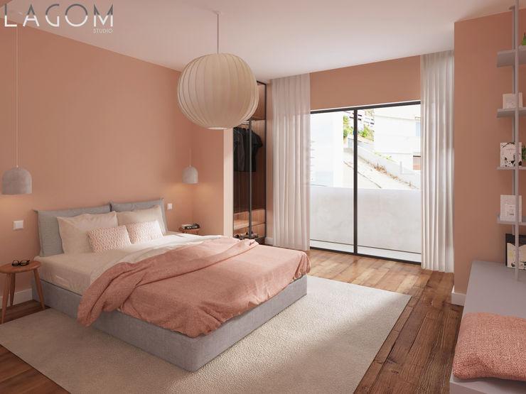 Quarto 4 Lagom studio Quartos escandinavos Rosa