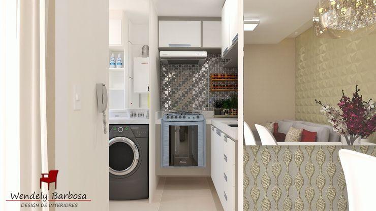 Wendely Barbosa - Designer de Interiores Armarios de cocinas