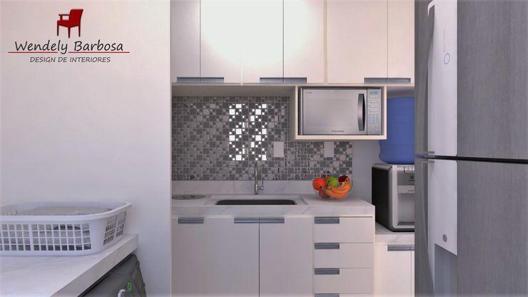 Wendely Barbosa - Designer de Interiores Cocinas modernas