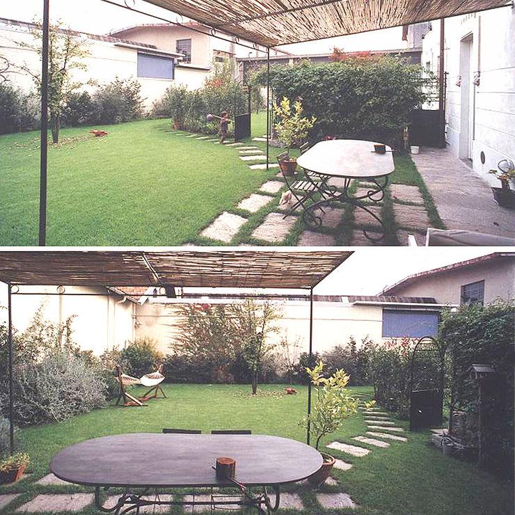 Tavolo per pranzare in giardino Luisa Olgiati Giardino anteriore