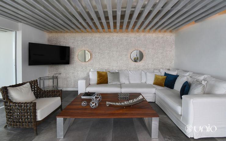 Departamento Icaos, Acapulco Guerrero Unio Studio Salones modernos