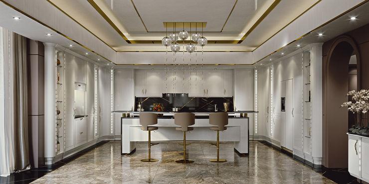 Cucina Diamond - Brummel Brummel Cucina attrezzata Legno Bianco