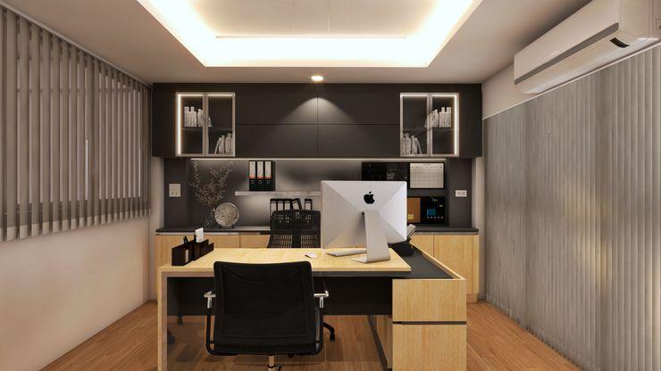 Modernize Design + Turnkey Casas pequeñas Madera Multicolor