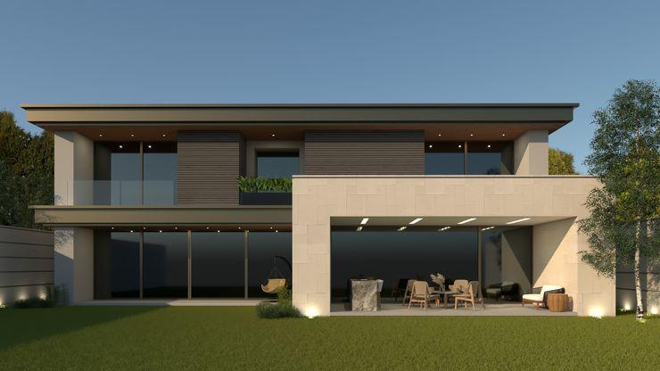 FACHADA RARK   Arquitectura Casas modernas