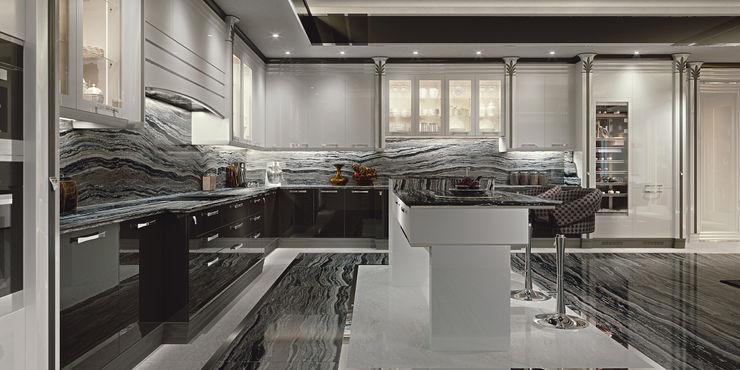 Cucina Lussuosa - Brummel Brummel Cucina attrezzata Legno massello Bianco