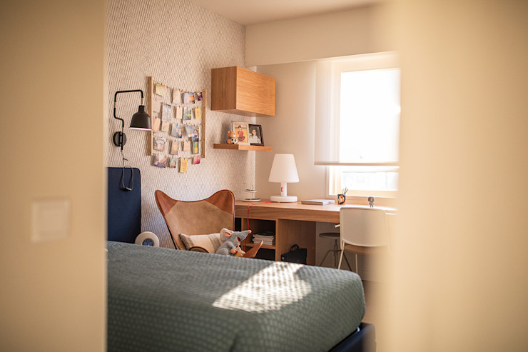 Quarto de criança - Apartamento no Campo Alegre - SHI Studio Interior Design ShiStudio Interior Design Quartos de adolescente