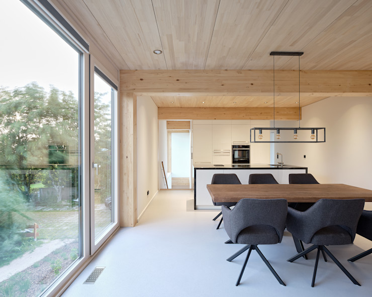 JEBENS SCHOOF ARCHITEKTEN BDA Modern living room
