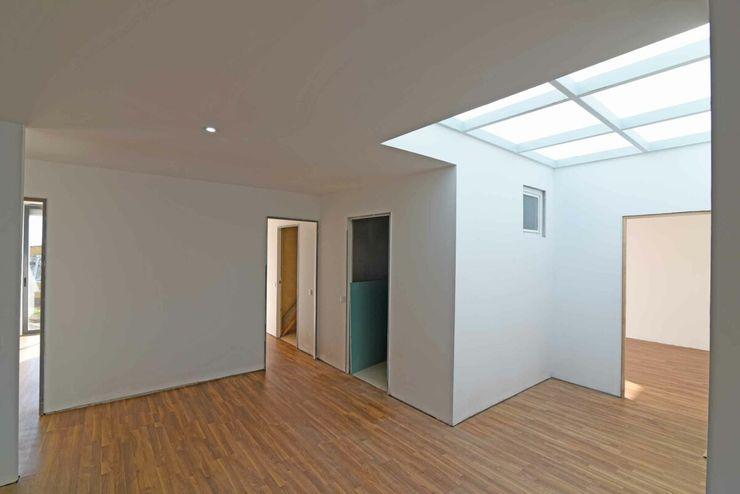 BLOC Casa Modular / Moradia T4 com 140 m2 - Vista interior Sala BLOC - Casas Modulares