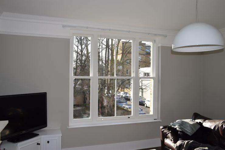 Venetian sash window Repair A Sash Ltd Wooden windows Engineered Wood White