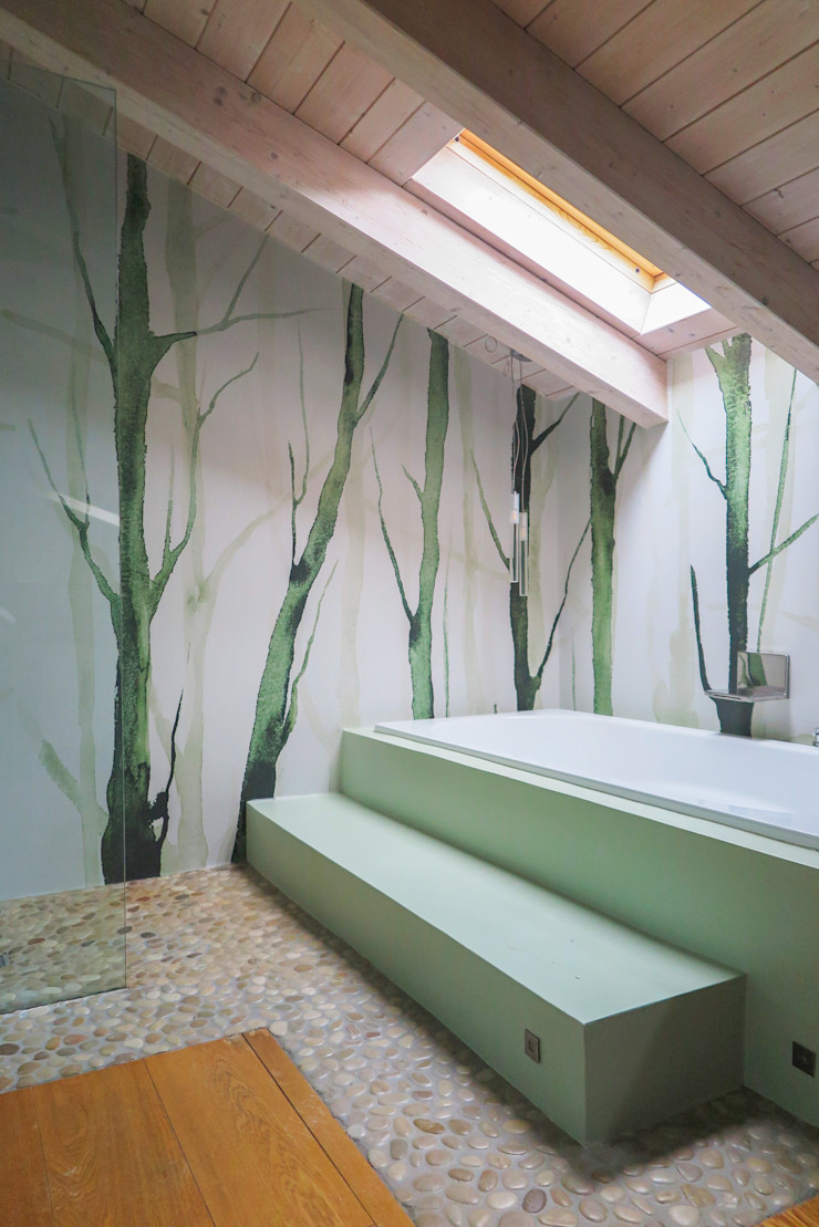 Il bagno come stanza del benessere viemme61 BagnoVasche & Docce Carta Verde