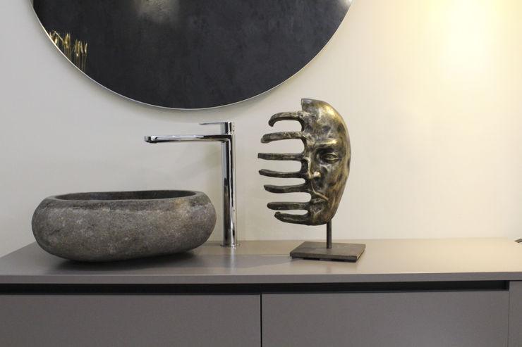 Il bagno come stanza del benessere viemme61 BagnoDecorazioni Pietra Grigio