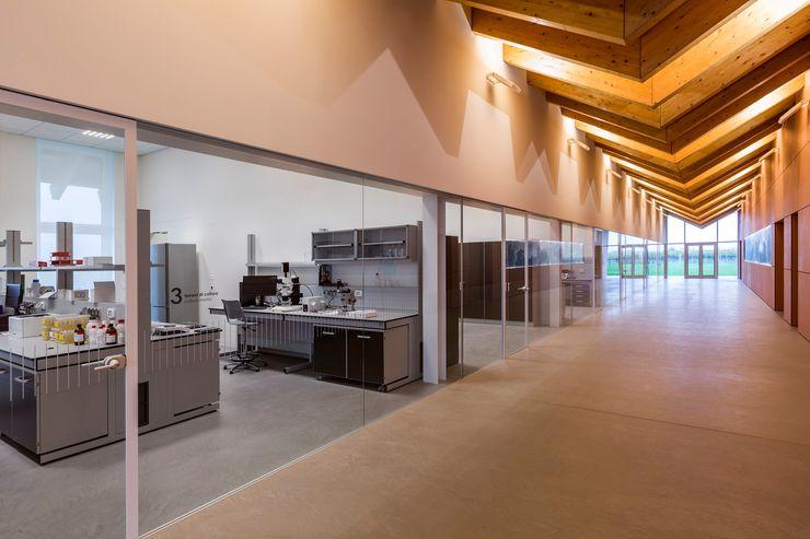 VCR RESEARCH CENTER - INTERNI Elia Falaschi Fotografo Complesso d'uffici moderni
