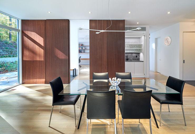 KUBE architecture اتاق غذاخوری