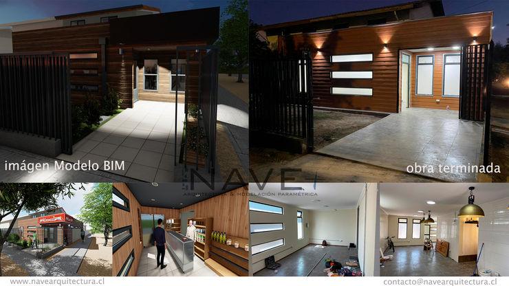 Ampliación para Local Comercial, Curicó, Región del Maule Nave + Arquitectura & Modelación Paramétrica