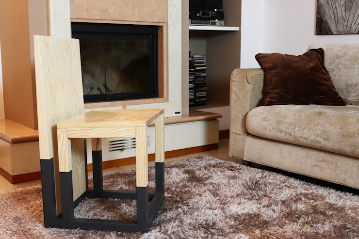 WoodLikeDesign Living roomStools & chairs Parket