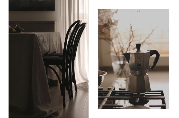 JENO Pracownia Projektowania Naturalnego Столовая комната в эклектичном стиле
