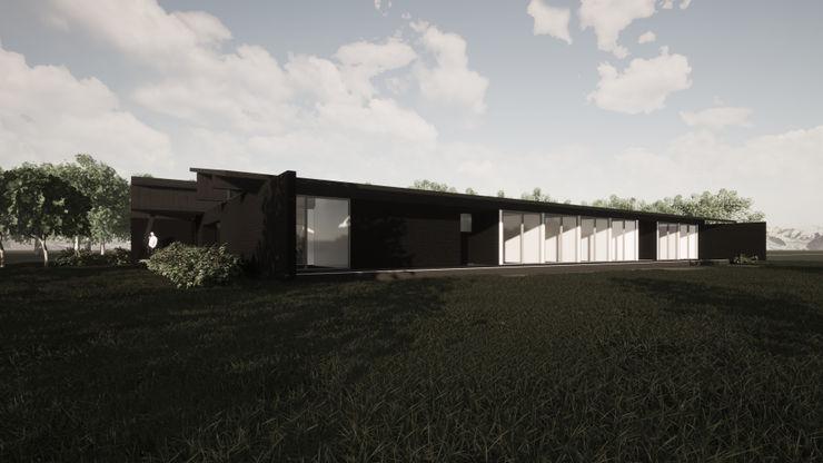 Casa en Mostazal II trama arquitectos Casas unifamiliares