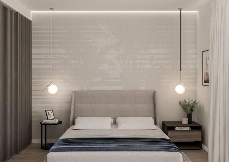 Appartamento in Milano, Bocconi - 90mq - La camera matrimoniale Bongio Valentina Camera da letto moderna