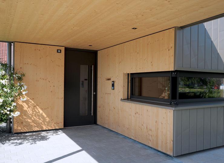 schroetter-lenzi Architekten Casas pequeñas Madera Marrón