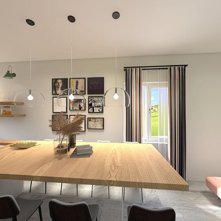 JR Interior Design Modern dining room