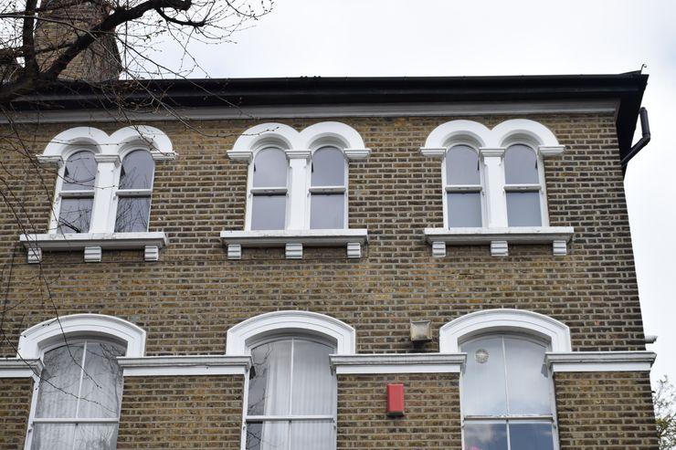 Arched sash windows Repair A Sash Ltd Wooden windows Engineered Wood White