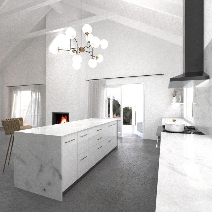 Diseño Interior: Cocina Studio Design Arquitectos