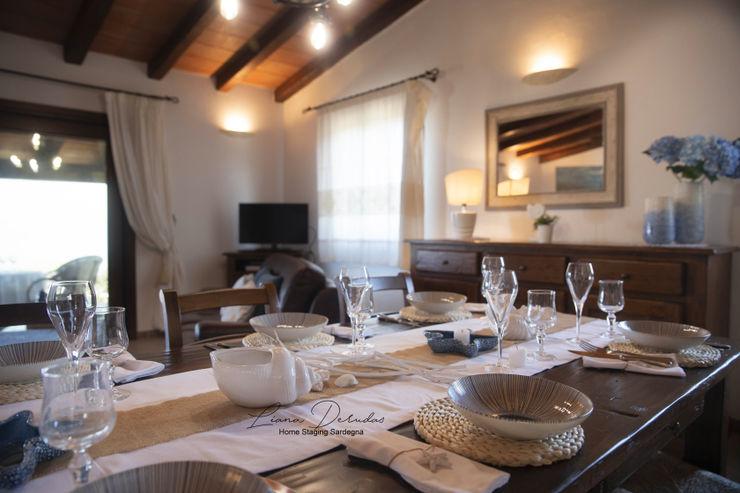 """""""Villa Sunset oltre l'azzuro del mare"""" Home Staging Sardegna Solution CucinaAccessori & Tessili"""