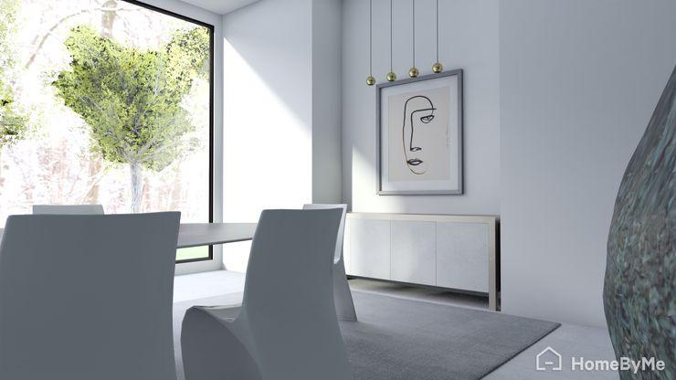 Proyecto Casa Minimalista Gabi's Home ComedorAccesorios y decoración Beige