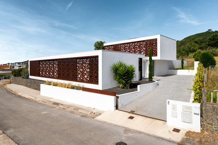 Front of the house Pascal Millasseau Construction Maison individuelle