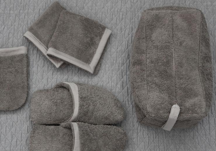 POEMO DESIGN BathroomTextiles & accessories Cotton Brown