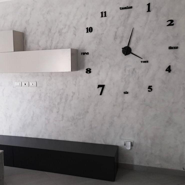 ZONA LIVING IN STILE INDUSTRIAL - COMPLEMENTI D'ARREDO Seven Project Studio SoggiornoAccessori & Decorazioni Grigio