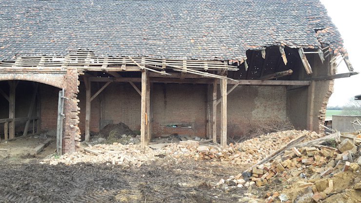 Vom Lost Place zur Wiederverwendung Antik-Stein Klassische Häuser